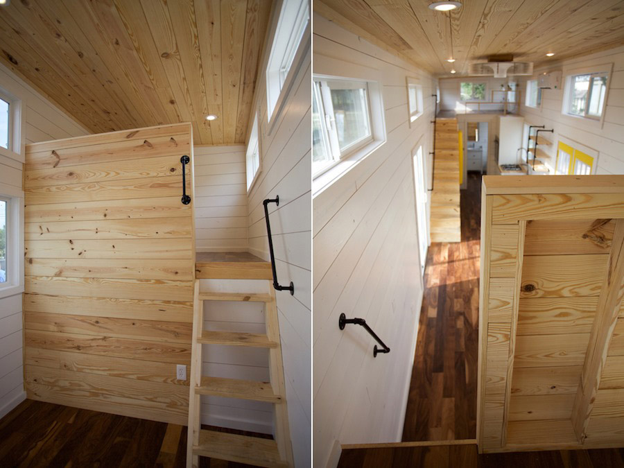 Custom gooseneck by nomad tiny homes tiny houses on for Small home builders near me