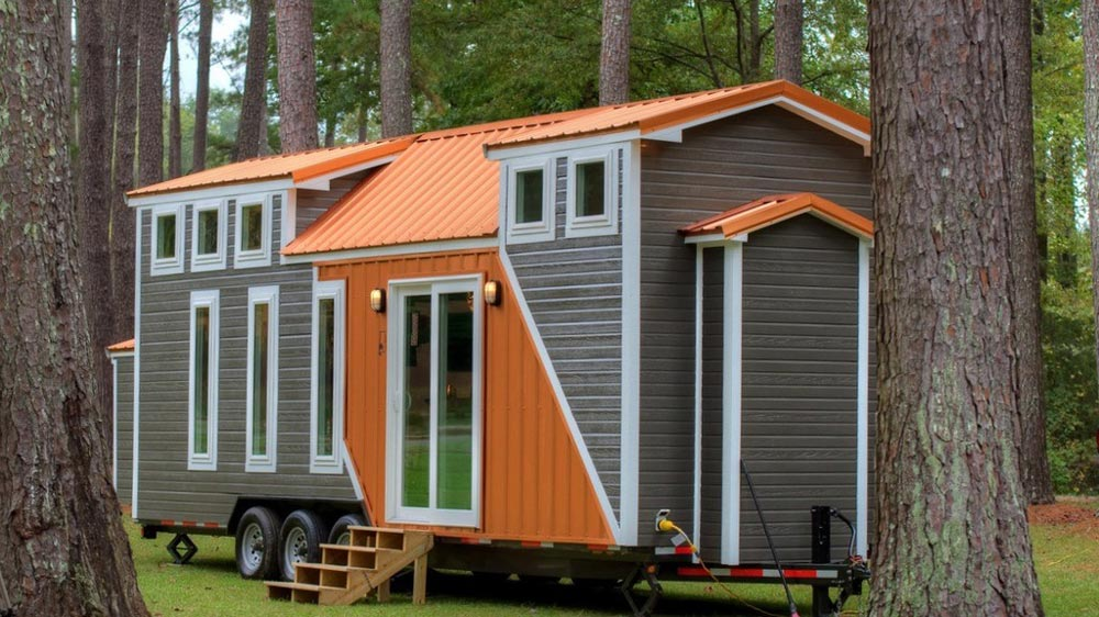 trinity v2 by alabama tiny homes tiny houses on wheels for sale listings. Black Bedroom Furniture Sets. Home Design Ideas