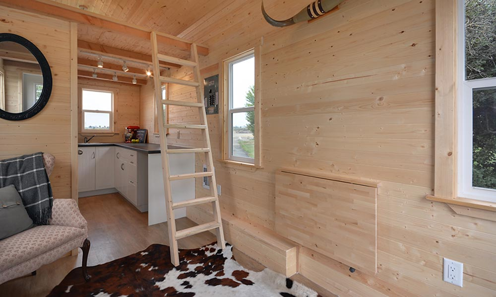 Cabin in the woods by mint tiny homes tiny houses on for Small house builders near me