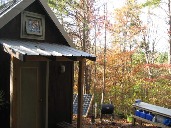 My tiny house in Autumn