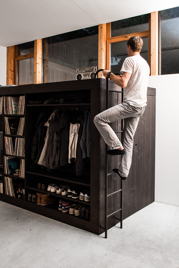 Customized 100 Sq Ft Living Cube For Sleeping Amp Storage