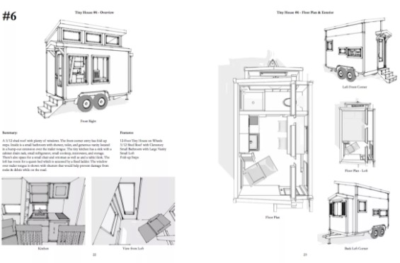 Free Preview of 101 Tiny House Designs Book by Michael Janzen