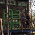11 Year Old Boy Designs and Builds a Tiny Tree House Cabin 001