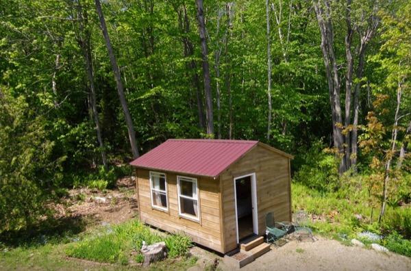 12 X 16 Amish Built Tiny House