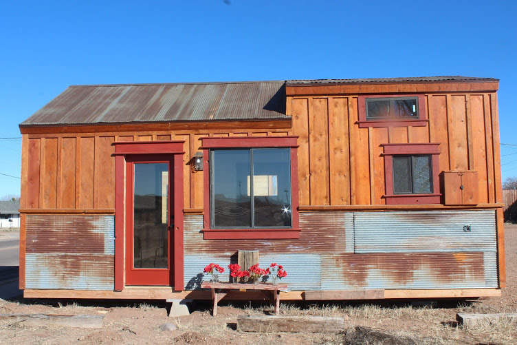 288 sq ft tiny house on skids by clear creek tiny homes for 24 ft tiny house