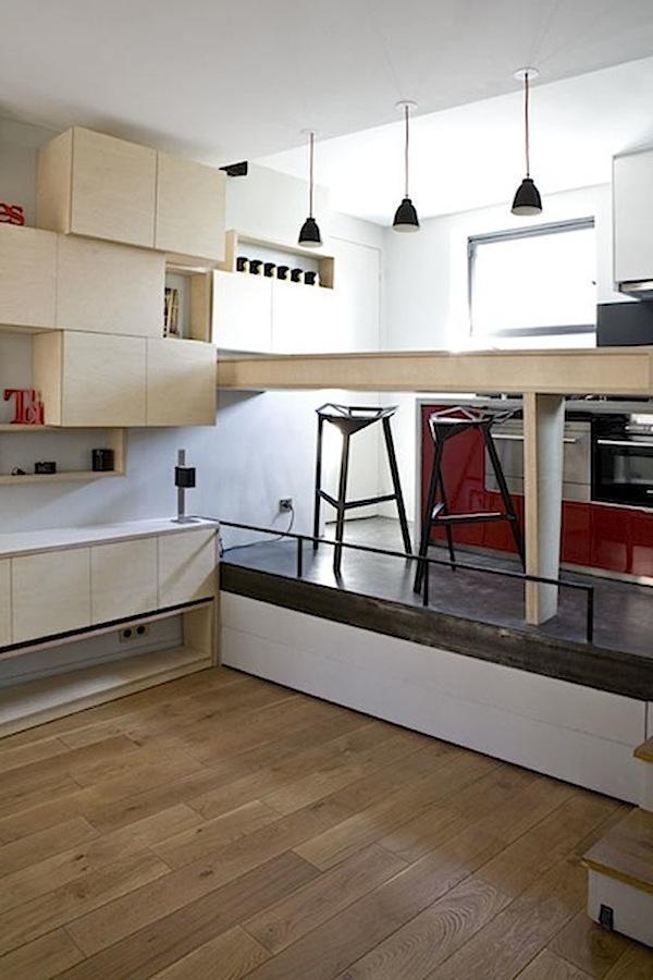 Amazing 130 Sq. Ft. Micro Apartment in Paris