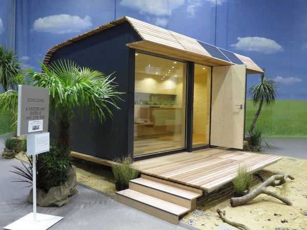 135 Sq Ft Off Grid Wave Cabin by Eco Living 007