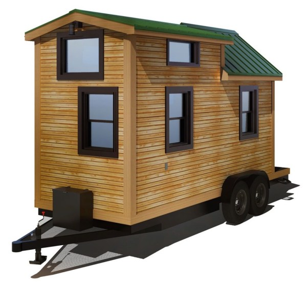 154 Sq Ft Roving Tiny House on Wheels by 84 Lumber Tiny Living 0012