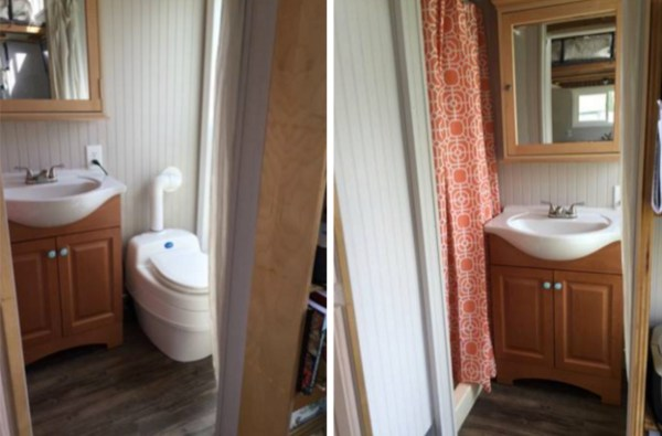 160 Sq Ft Tiny House on Wheels For Sale 004