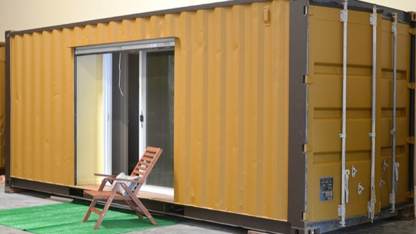 160 Sq. Ft. Shipping Container House-001