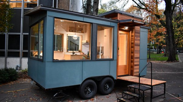 16ft Verve Lux Tiny House by TruForm Tiny 0022