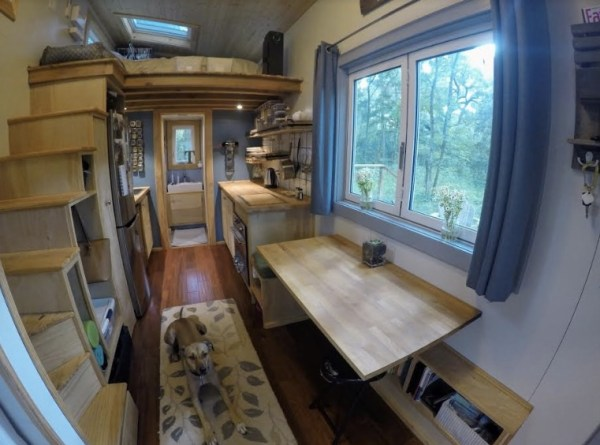 Couple Create Contentment with 180 Sq. Ft. Tiny House