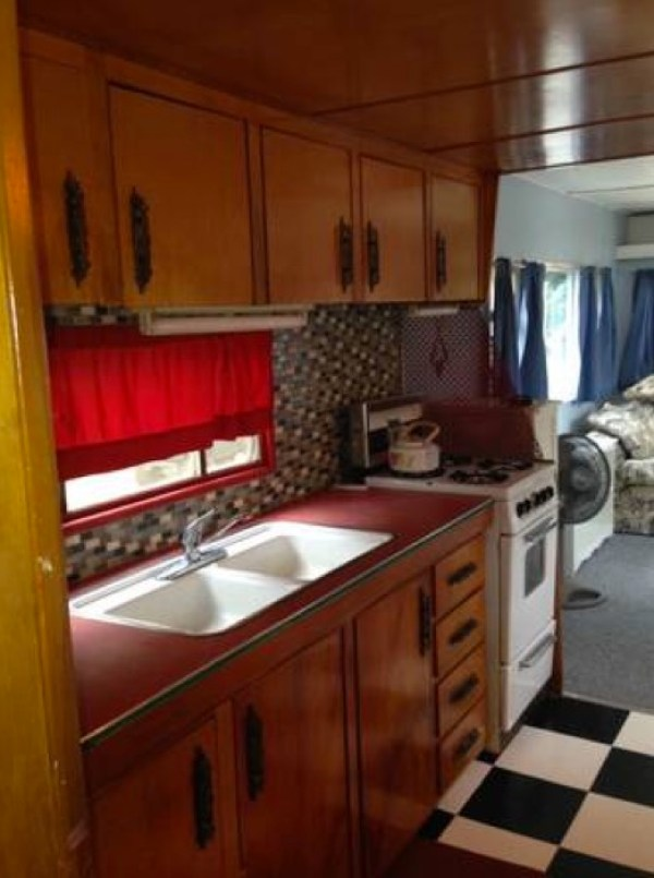 1954 %22Two-Story%22 Vintage Travel Trailer For Sale 002