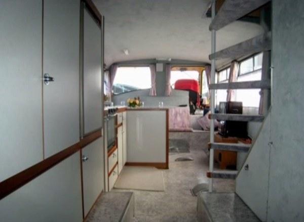 Vintage Double Decker Rv Motorhome