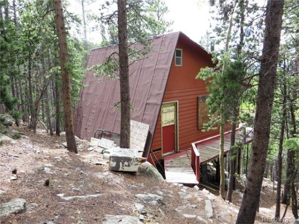 1960's Tiny Cabin on 2 Acres in Idaho Springs, Colorado For Sale