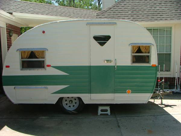 1961 Restored Vintage Travel Trailer For Sale