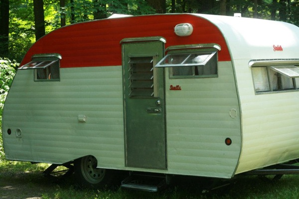 1965 Serro Scotty Sporstman Travel Trailer Renovation 0053