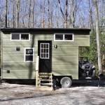 20ft Timberland Tiny House for Hunting with Toy Hauler For Sale in VA 001