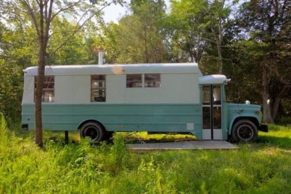 $20k School Bus Tiny Home 001