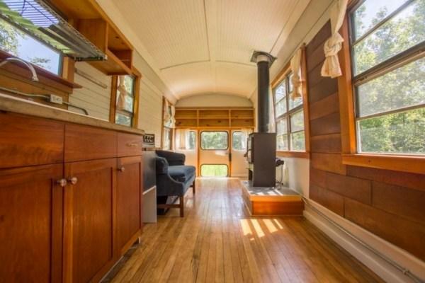 $20k School Bus Tiny Home 003