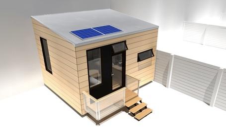 215 SF Prefabricated Tiny house