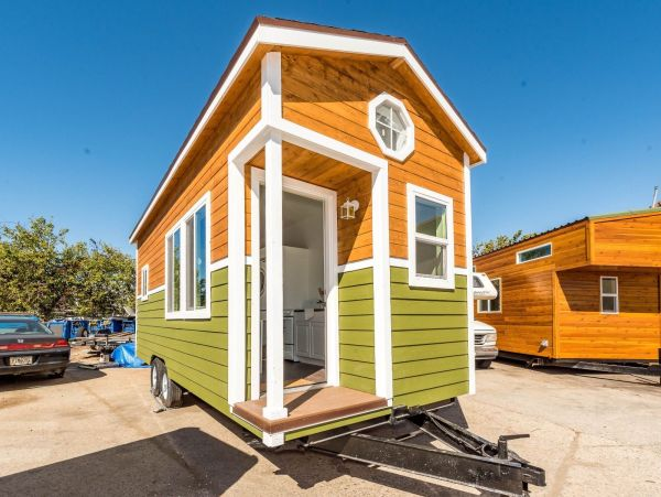 22ft Custom Tiny House by NW Bungalow 001