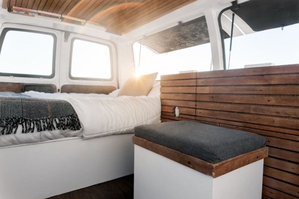 23-Year-Old Filmmakers Cargo Van Tiny House 009