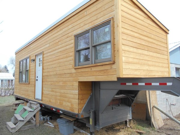 230 Sq Ft Gooseneck Tiny House For Sale 001