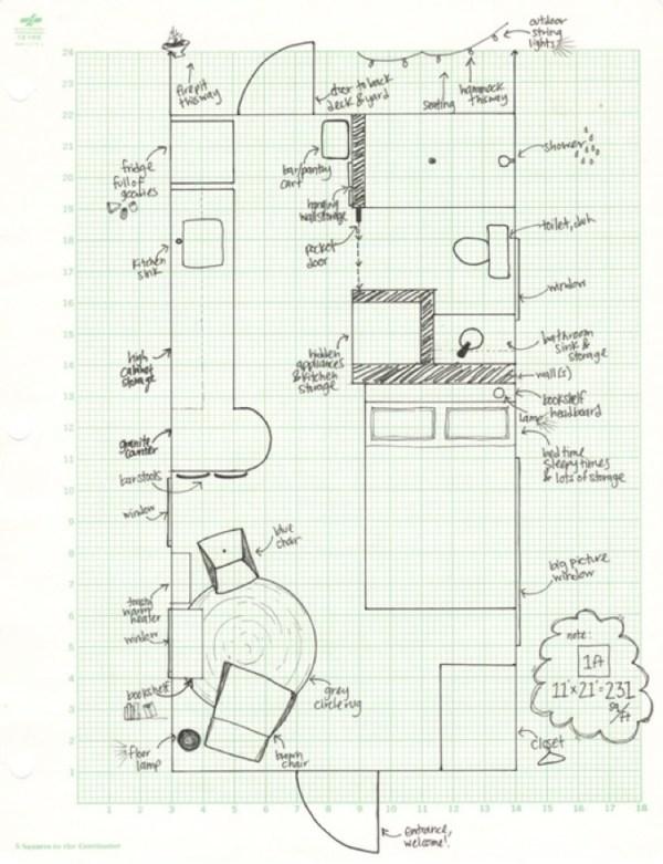 231 Sq Ft Tiny Cottage 006