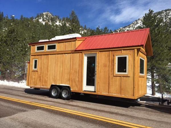 24' Freedom Tiny House on Wheels by SimBLISSity 003