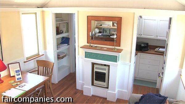 240 Sq Ft Little House on a Trailer 007