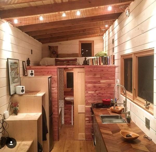 250 Sq. Ft. DIY Tiny House on Wheels