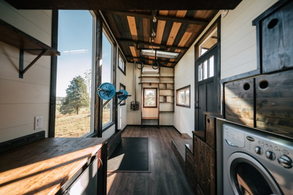 26ft Silhouette Tiny House 0035