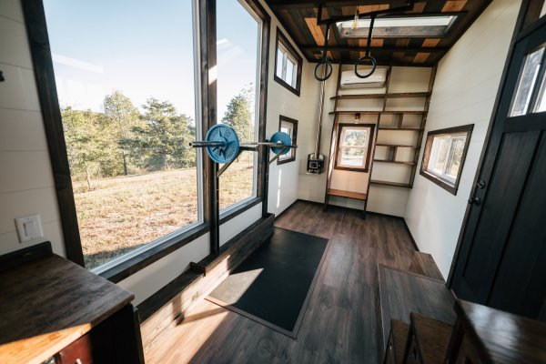 26ft Silhouette Tiny House 0036