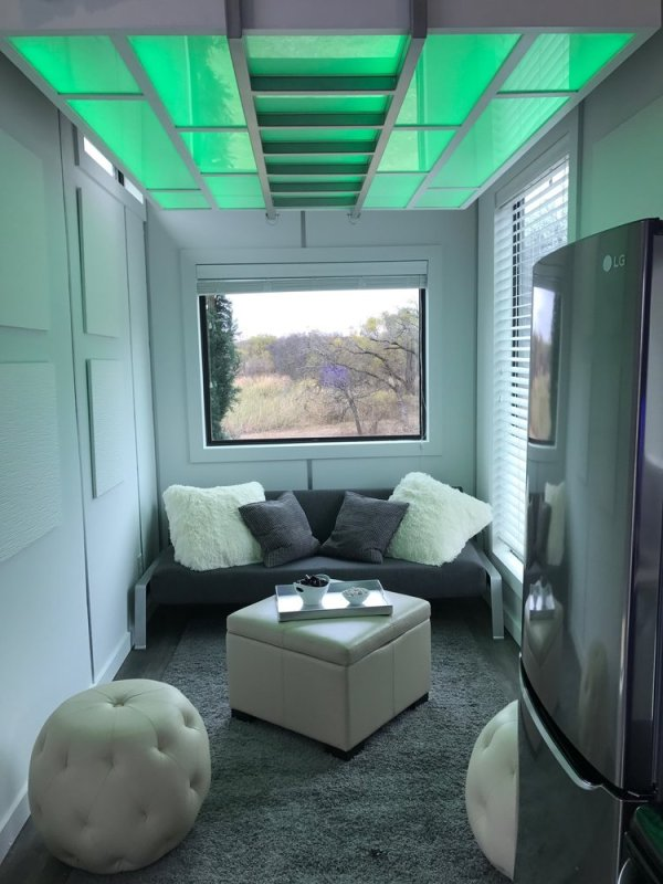 275 Sq. Ft. Tiny House with Roof-Top Deck