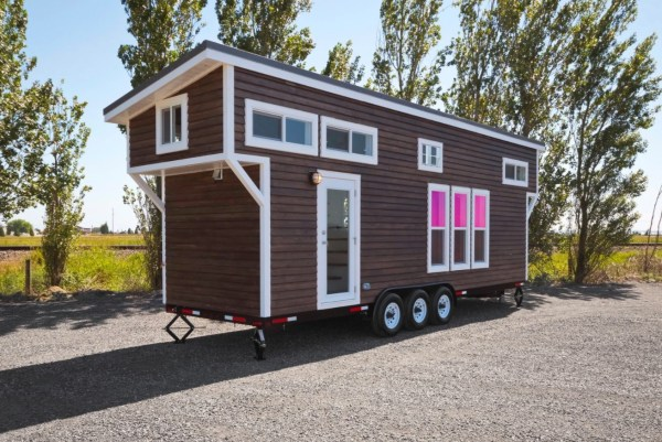 Metal Framed 28' Tiny House on Wheels by Mint Tiny Homes