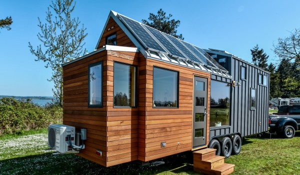 28ft Urban Payette Tiny Home with Bump Out 001