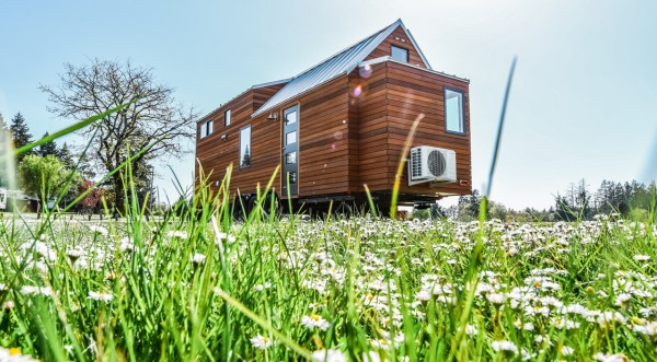 28ft Urban Payette Tiny Home with Bump Out 0020