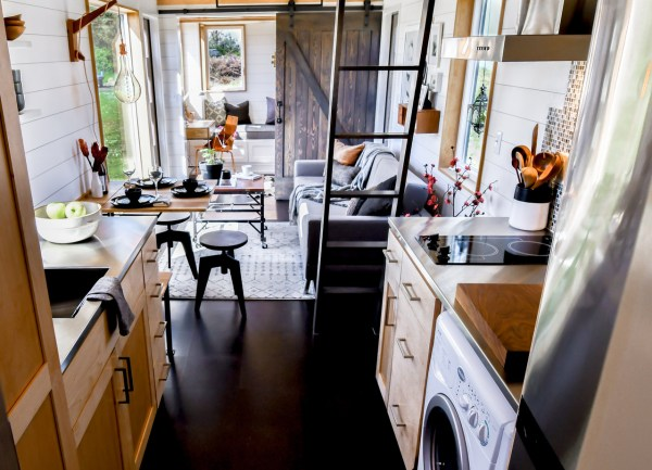 28ft Urban Payette Tiny Home with Bump Out 006