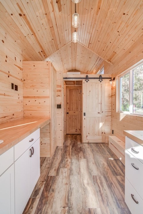 290sf Tiny House on Wheels with Downstairs Bedroom For Sale in Durham, NC 0015
