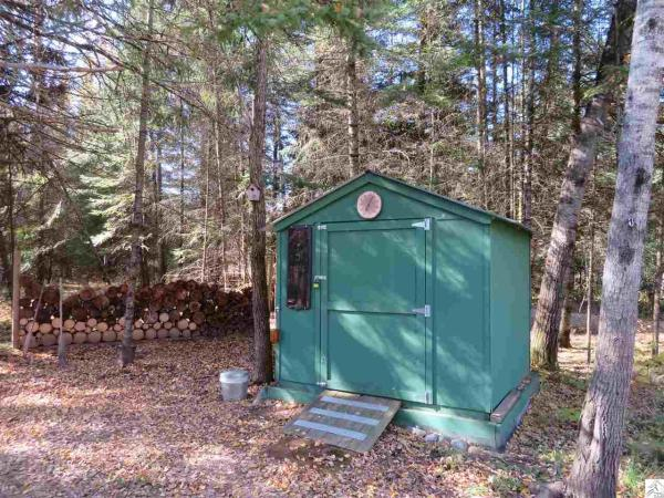305 Sq Ft Off Grid Tiny Cabin on 25 Acres