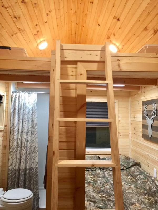 13' ft. THOW with Downstairs Bedroom: For Sale