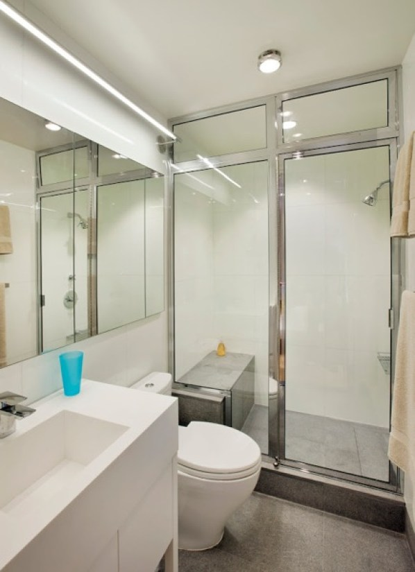 bathroom in NYC apartment