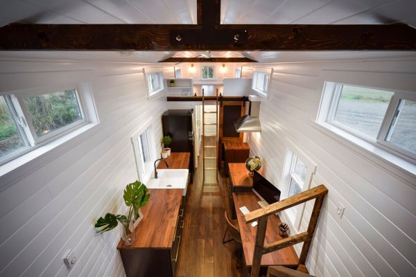 34ft Tiny House with Home Office