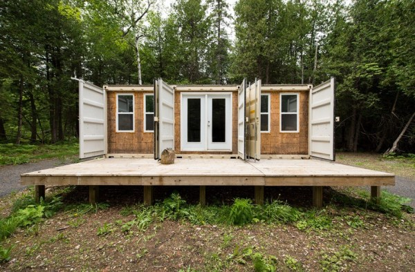 355 Sq. Ft. Container Cabin For Sale 002