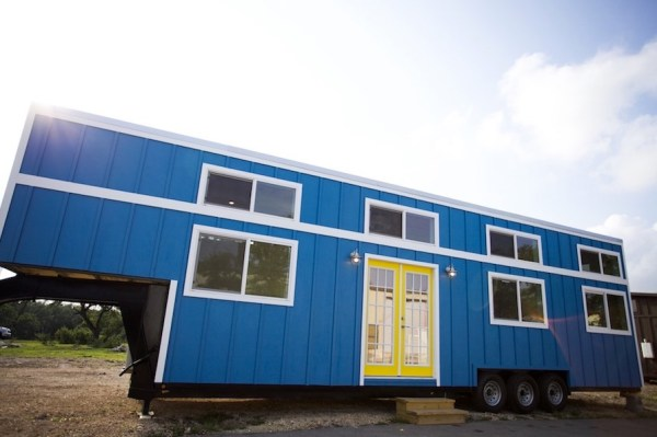 357 Sq Ft Tiny Home on Wheels for Family of 5 001