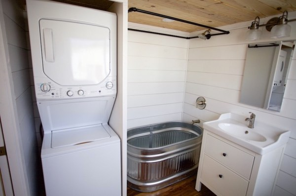 357 Sq Ft Tiny Home on Wheels for Family of 5 0010