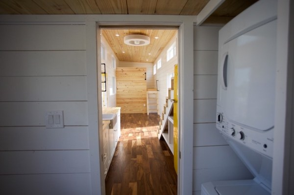 357 Sq Ft Tiny Home on Wheels for Family of 5 0012