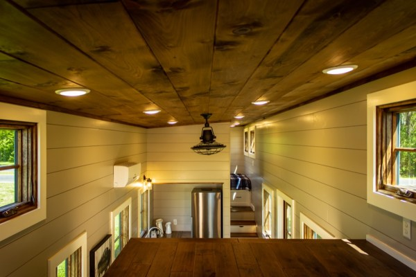35ft Gooseneck Tiny House By Timbercraft Tiny Homes