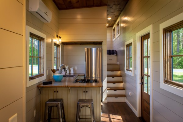 35ft Timbercraft Tiny Home For Sale INTERIOR 001a